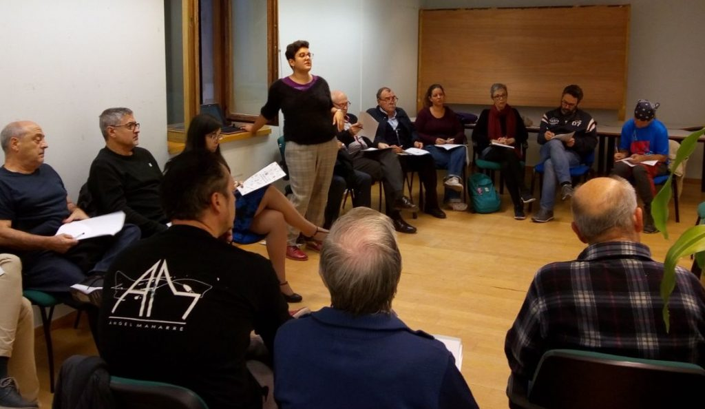 Consejos de Barrio. Sesiones informativas.